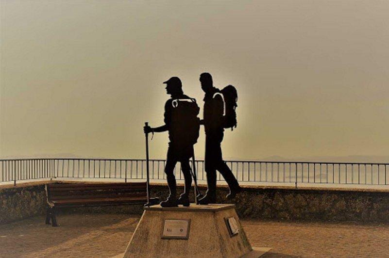 Monumento al Pellegrino Montefiascone
