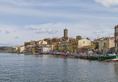 Marta is a small idyllic village on Lake Bolsena